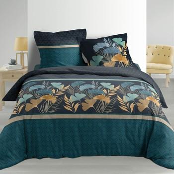 Maison & Déco Parures de lit Douceur d intérieur BLONDY Bleu