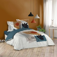 Maison & Déco Parures de lit Douceur d intérieur CUZCO Blanc
