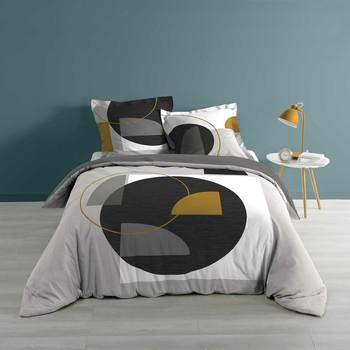 Maison & Déco Parures de lit Douceur d intérieur KOLPI Gris