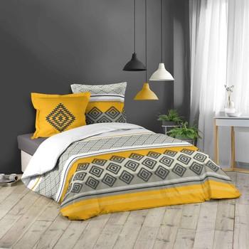 Maison & Déco Parures de lit Douceur d intérieur AZAGAO Jaune