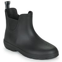Chaussures Femme Bottes de pluie Isotoner 93701 Noir