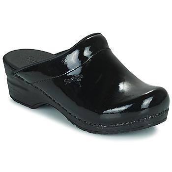 Chaussures Femme Sabots Sanita SONJA OPEN Noir