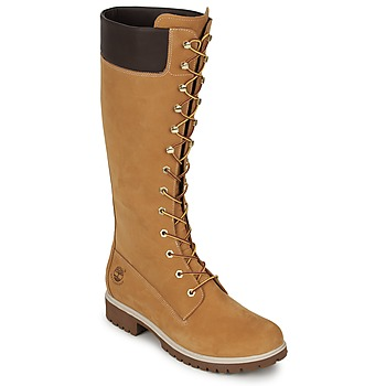 Chaussures Air max tnFemme Bottes ville Timberland WOMEN'S PREMIUM 14IN WP BOOT Cognac
