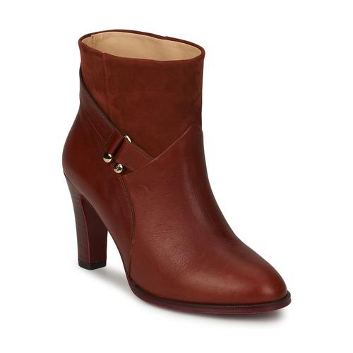 Chaussures Femme Bottines MySuelly CLAUDE Havane