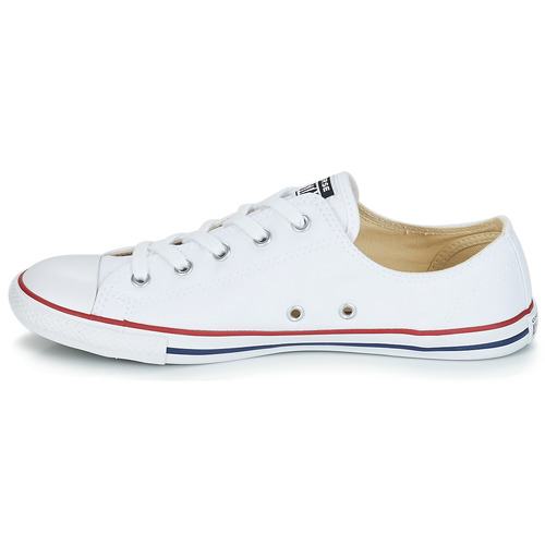 Converse CHUCK TAYLOR ALL STAR DAINTY OX Blanc / Rouge q1jTm