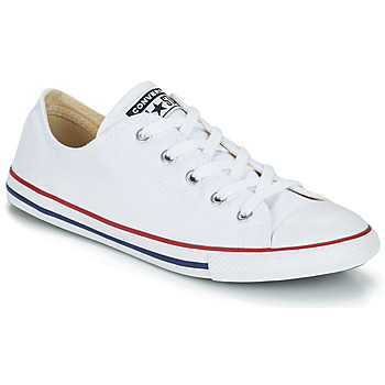 Converse CHUCK TAYLOR ALL STAR DAINTY  OX Blanc / Rouge