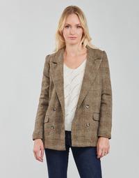 Vêtements Femme Vestes / Blazers Betty London PANOPI Marron