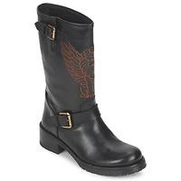 Chaussures Femme Boots Pastelle ANGEL Noir