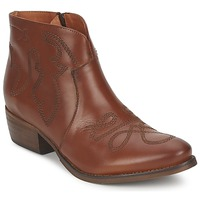 Chaussures Femme Boots Pastelle JANE Camel
