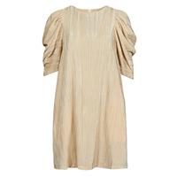 Vêtements Femme Robes courtes Moony Mood  Beige