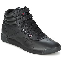 Chaussures Air max tnBaskets montantes Reebok Classic FREESTYLE HI Noir
