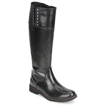 Chaussures Femme Bottes ville Tosca Blu ALINE BOTTE Noir