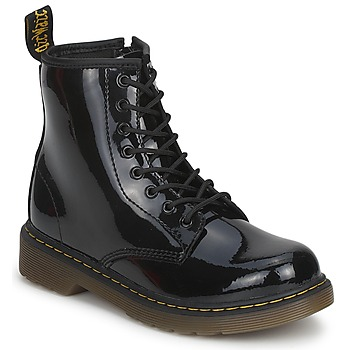 Chaussures Fille Boots Dr Martens DELANEY Noir