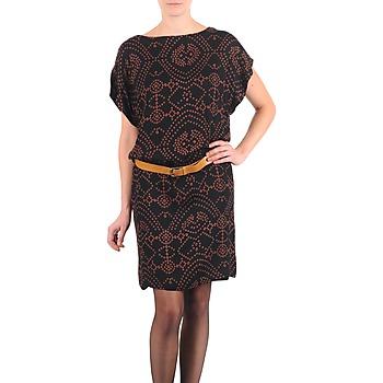Vêtements Femme Robes courtes Antik Batik QUINN Noir