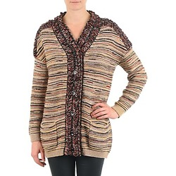 Vêtements Femme Gilets / Cardigans Antik Batik WAYNE Beige