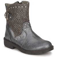 Chaussures Fille Boots Noel FRANCA Argent