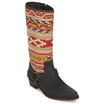 Chaussures Femme Bottes ville Sancho Boots CROSTA TIBUR GAVA Marron-rouge