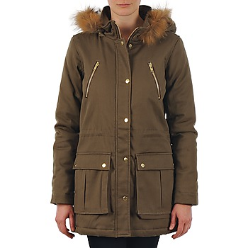 Vêtements Femme Parkas School Rag PARKLEY Kaki