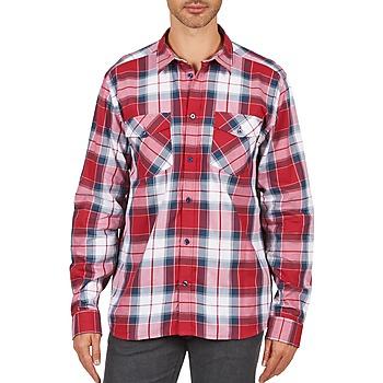 Vêtements Homme Chemises manches longues Wesc JOEY Rouge