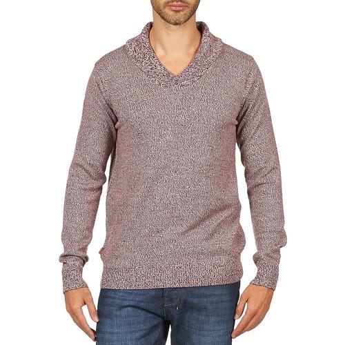 Vêtements Homme Pulls Kulte PULL CHARLES 101823 ROUGE Rouge