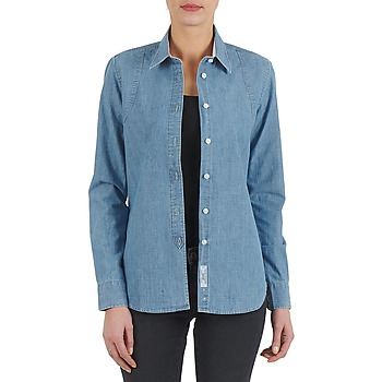 Vêtements Femme Chemises / Chemisiers Kulte CHEMISE CIRCUIT 101826 BLEACH Bleu