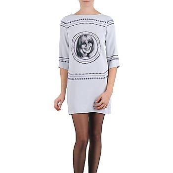 Vêtements Femme Robes courtes Brigitte Bardot BB43121 Gris