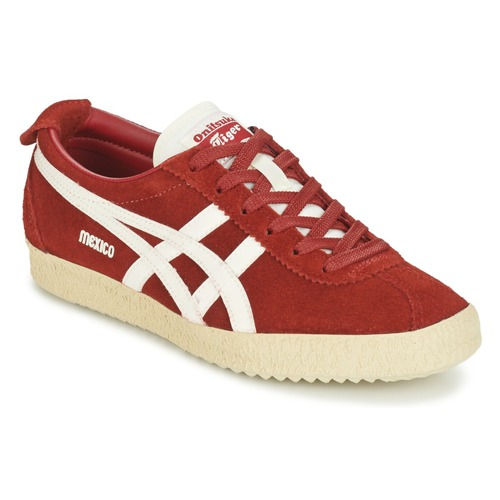 Chaussures Baskets basses Onitsuka Tiger MEXICO DELEGATION SUEDE Rouge