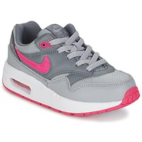 Chaussures Fille Baskets basses Nike AIR MAX 1 CADET Gris / Rose
