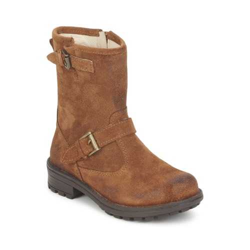 Chaussures Fille Boots Naturino JIJOLA FAUVE