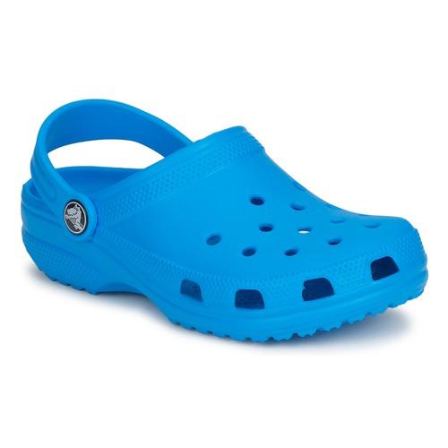 Chaussures Enfant Sabots Crocs CLASSIC KIDS Bleu