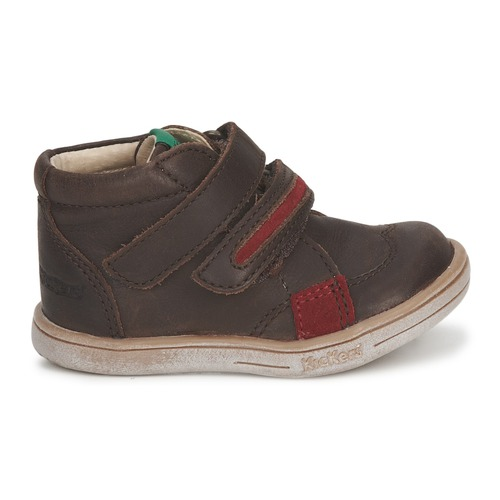 Kickers Taxi Marron / Rouge ...