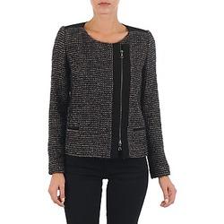 Vêtements Femme Vestes / Blazers Lola VIE LUREX Noir / Beige