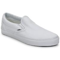 Chaussures Slip ons Vans CLASSIC SLIP ON TRUE WHITE