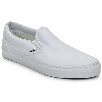 Chaussures Slips on Vans CLASSIC SLIP ON TRUE WHITE