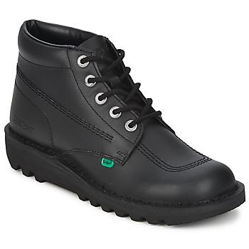 Chaussures Homme Boots Kickers KICK HI Noir