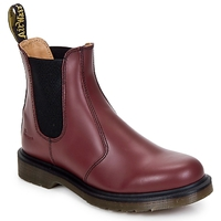 Chaussures Boots Dr Martens 2976 CHELSEA BOOT Rouge Cerise