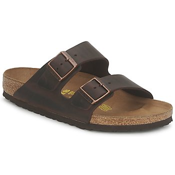 Chaussures Homme Mules Birkenstock ARIZONA LARGE FIT Habana