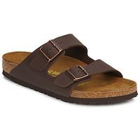 Chaussures Homme Mules Birkenstock ARIZONA LARGE FIT Marron foncé