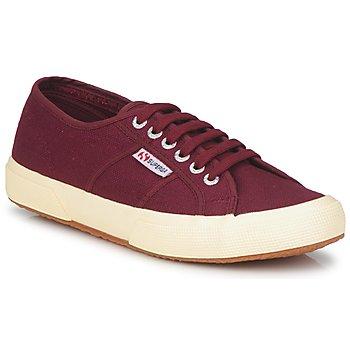 Chaussures Baskets basses Superga 2750 COTU CLASSIC DARK BORDEAUX