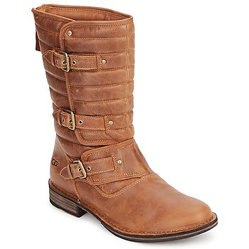 Chaussures Femme Bottes ville UGG TATUM Chestnut