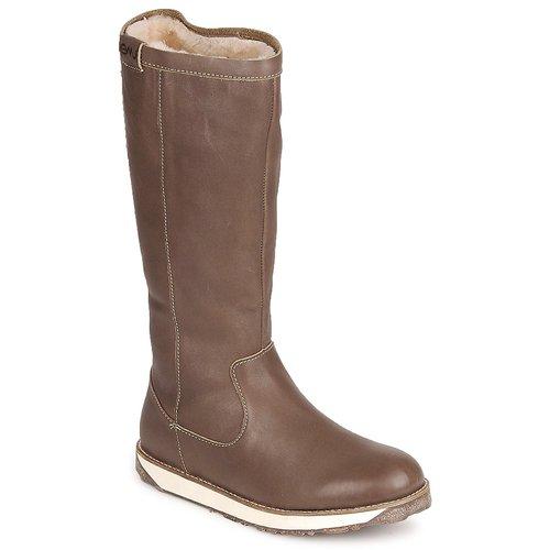 Chaussures Femme Boots EMU LEEVILLE Mushroom