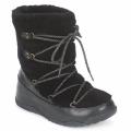 Chaussures Femme Bottes de neige FitFlop SUPERBLIZZ Noir