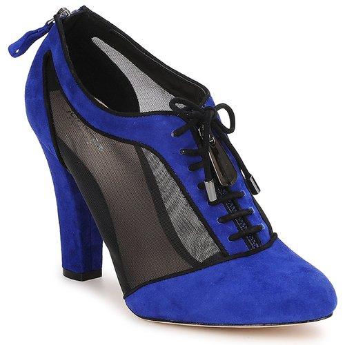 Bourne PHEOBE Blue - Livraison Gratuite avec  - Chaussures Low boots Femme