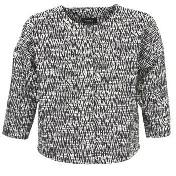 Vêtements Femme Vestes / Blazers Mexx MX3002331 Noir / Blanc