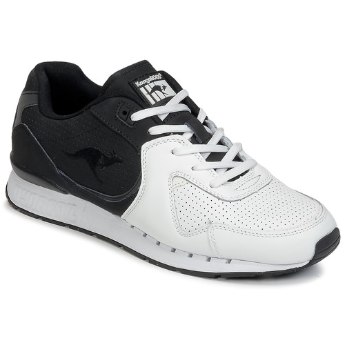 Chaussures Homme Baskets basses Kangaroos COIL-R2 TONE Blanc / Noir