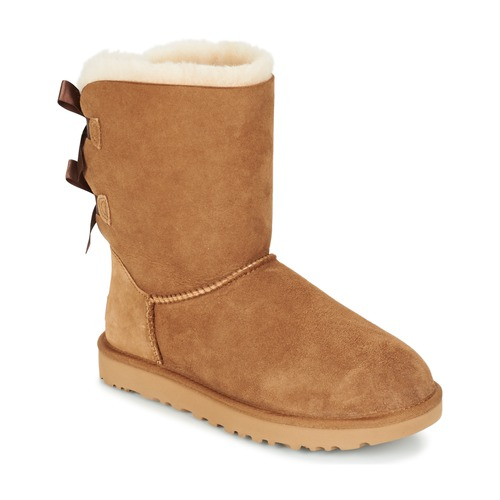 Chaussures Femme Boots UGG BAILEY BOW II Chataîgne