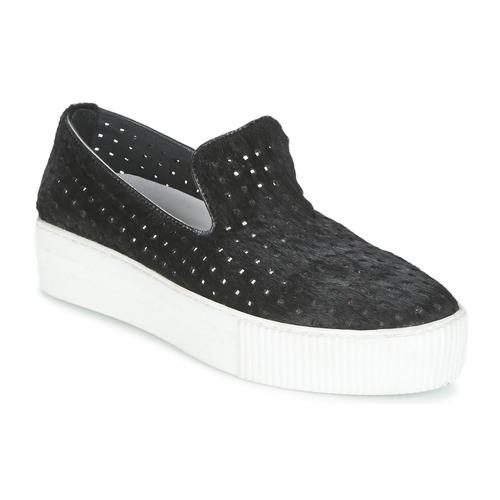 Chaussures Femme Slips on Maruti ABBY Noir
