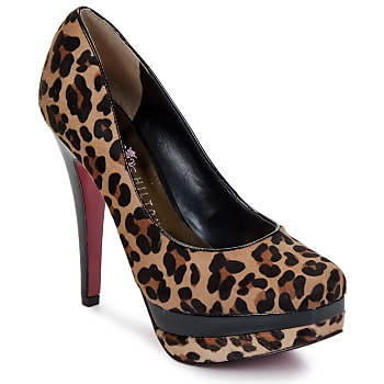 Chaussures Femme Escarpins Paris Hilton TYRA PONY Marron