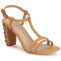 Chaussures Femme Escarpins Lola Cruz STUDDED BEIGE/TAN