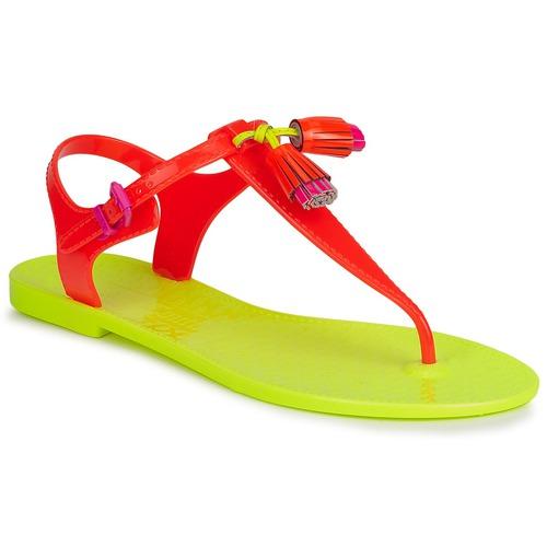 Chaussures Femme Sandales et Nu-pieds Juicy Couture WISP NEON ORANGE
